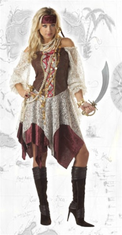 Sexy Piratess Adult Costume