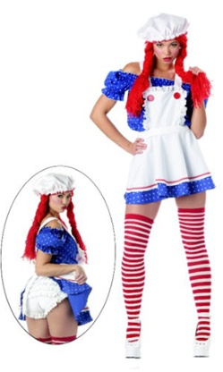 Sexy Rag Doll Adult Costume