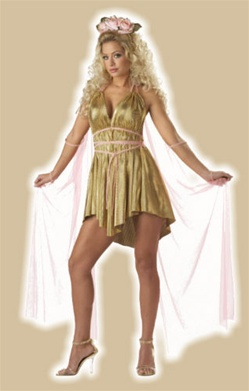 Aphrodite Love Goddess Adult Costume