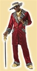 Sweet Daddy Beaujolais - Pimp Adult Costume