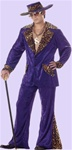 Purple Pimp Adult Costume
