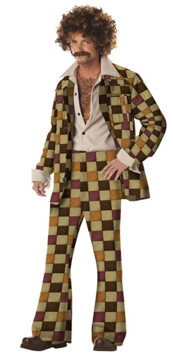 Disco Sleazeball - Leisure Suit Costume