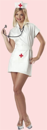 Adult Nurse Womens Costume