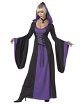Gothic Halloween Hooded Robe
