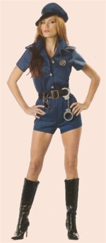 Sexy Adult Cop Lady Costume