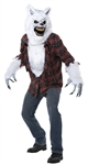 White Lycan Costume - Wolf