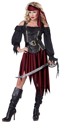 Queen of the High Seas Costume - Pirate Lady
