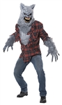 Gray Lycan Costume - Grey Wolf