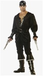 Blackheart the Pirate Costume - Adult
