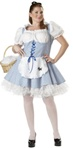 Sexy Plus Size Storybook Adult Costume