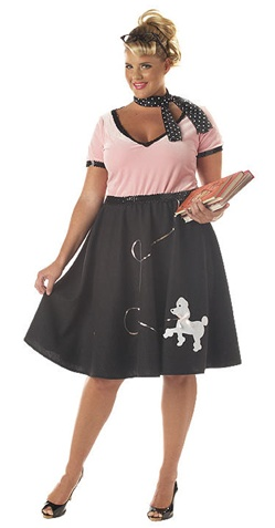 Fifties Plus Size Costume