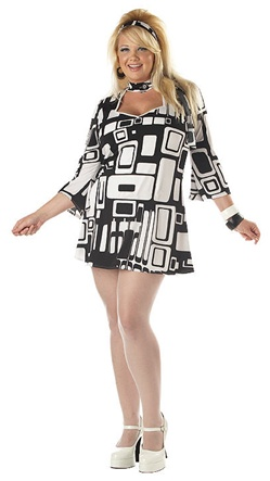 Sixties Plus Size Costume