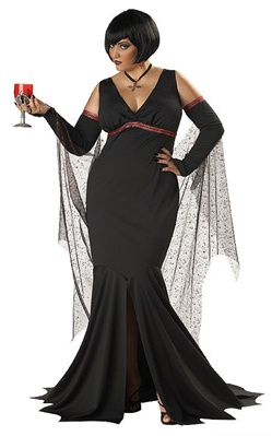Vampiress Plus Size Costume