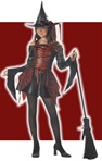 Tween Witch Girls Costume - Abracadabra