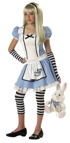Tween - Alice In Wonderland Costume