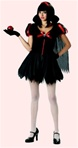 Gothic Snow White Costume - Teen