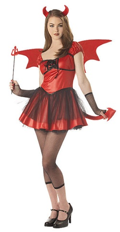 Teen Devil Doll Costume
