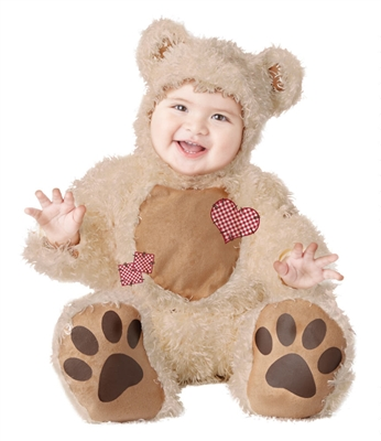 Infant Cuddly Bear Costume - Cute