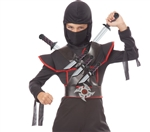 Stealth Ninja Weapons Belt - Daggers, Swords