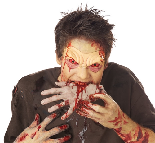 Zombie Devoured Hand Pack Kit - Halloween