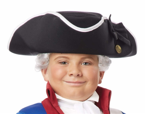 Child Tricorn Hat - Revolutionary Soldier, Patriot