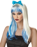 Enchanting Tresses Wig - Blond and Blue