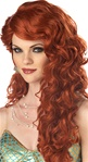 Auburn Mermaid Adult Wig
