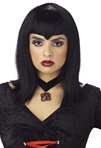 Medium Length Adult Vamp Wig