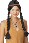 Pocahontas - Indian Maiden Adult Wig