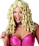 Curly Blonde Storybook Adult Wig - Baby Doll
