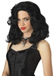 Black Glamour Girl Adult Wig
