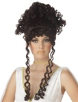 Womens Brown Athenian Goddess Wig
