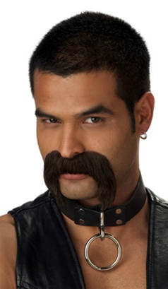 Leather Daddy Mens Moustache - Accessory