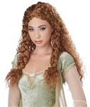 Brunette/Auburn Viking Princess Wig