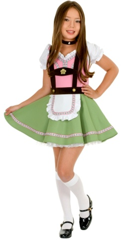 Gretchen Swiss Alps Girl Costume - Child