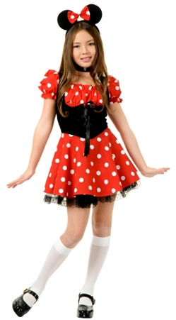Little Miss Mouse Child Costume