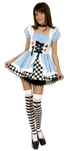 Fairy Tale Teen Alice Girls Costume