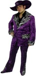 Purple Pimp Costume - Adult