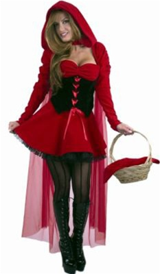 Sexy Red Riding Hood Adult Costume