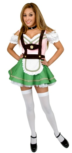 Gretchen Swiss Alps Girl Costume - Teen