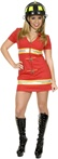 Double Zip Fire Fox Costume - Adult