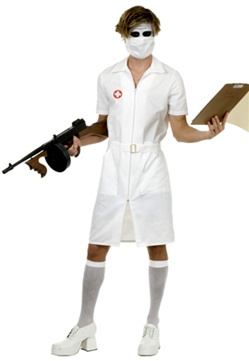 Psycho Nurse Costume - Adult