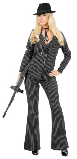 Gangster Moll Costume - Adult