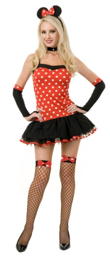 Miss Mouse Hottie Costume - Adult