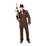 Adult Gangster 6 Button Suit Costume