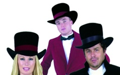 Velvet Adult Top Hat