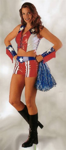 USA Cheerleader Costume - Adult