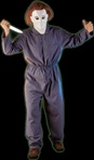 Michael Myers Jumpsuit Costume - Adult
