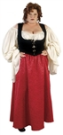 Plus Size Merchants Wife Adult Costume