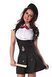 Sexy French School Girl Costume